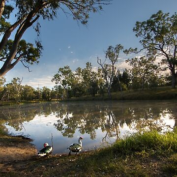 Judds Lagoon - Yuleba - Queensland by moronif
