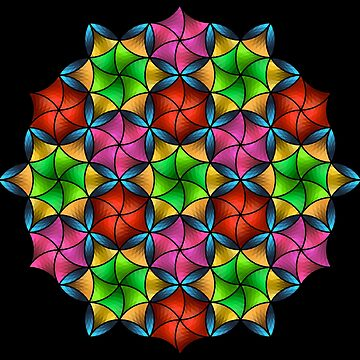 Stained Glass Star by Girih