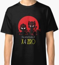 The adventures of X and Zero Classic T-Shirt