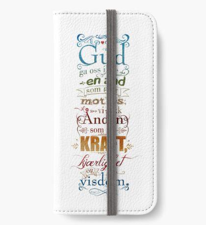 Gud ga oss ikke en ånd som gjør motløs iPhone Wallet