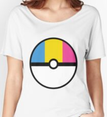 Pansexual Pokeball Women's Relaxed Fit T-Shirt