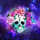 Spiritual Colourful Skull  by Occultix
