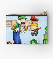 Super Calvin and Hobbes Bros. Studio Pouch