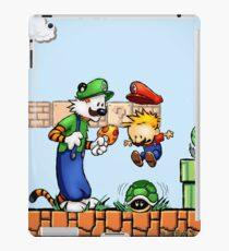 Super Calvin and Hobbes Bros. iPad Case/Skin
