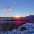 Wicklow Mountain Sunrise by DES PALMER