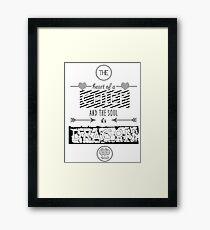 Chief Heart, Dragon Soul Framed Print