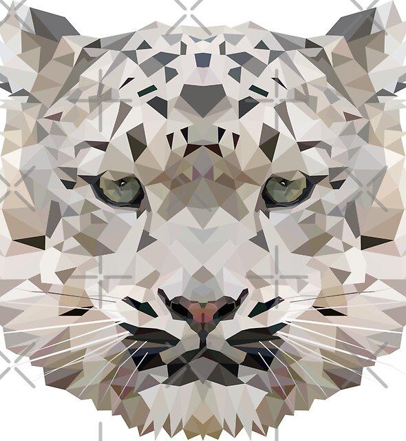 Snow_Leopard by edwardmhz