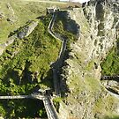 Tintagel Castle, Cornwall by hans p olsen