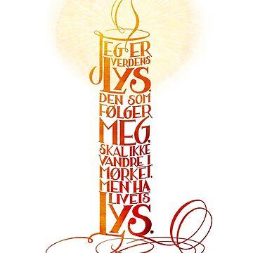 Jeg er verdens lys by GudsOrd