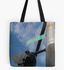 Broad Street Providence Tote Bag