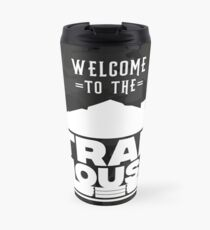 Welcome to the Trap House - Camouflage Black Edition Travel Mug