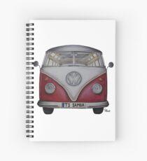 1957 Volkswagen Van- New Spiral Notebook
