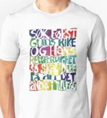 Søk først Guds rike Unisex T-Shirt