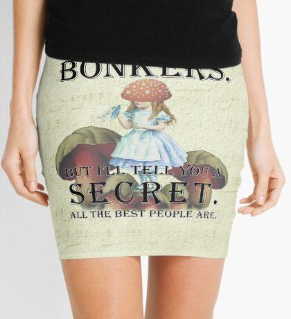 Alicia en el país de las maravillas: estás totalmente loca Minifalda
