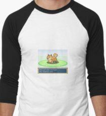 A Wild Doge Apeared Men's Baseball ¾ T-Shirt