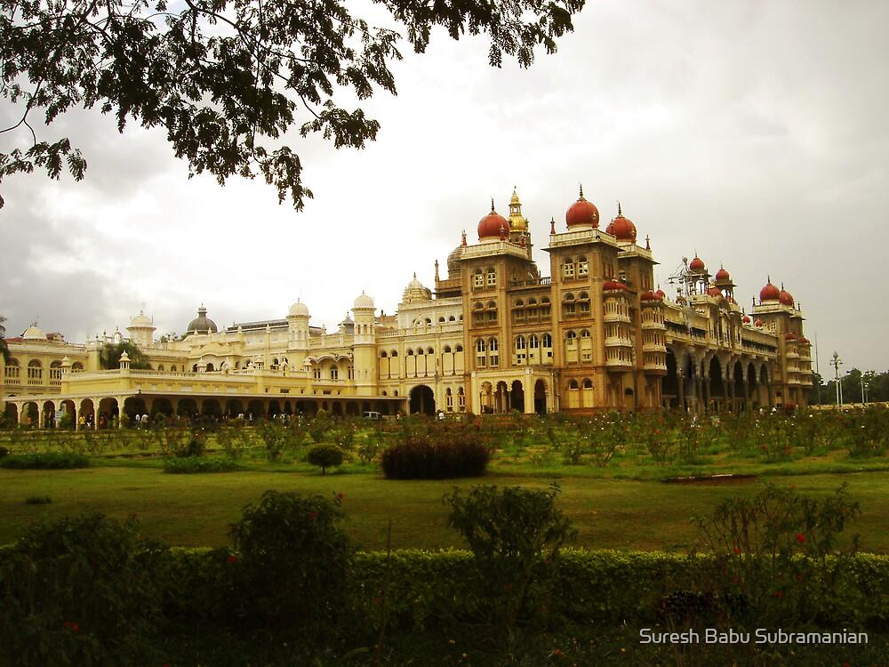 Mysore Palace #Edited by Suresh Babu Subramanian