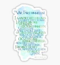 Vår Far i himmelen Sticker