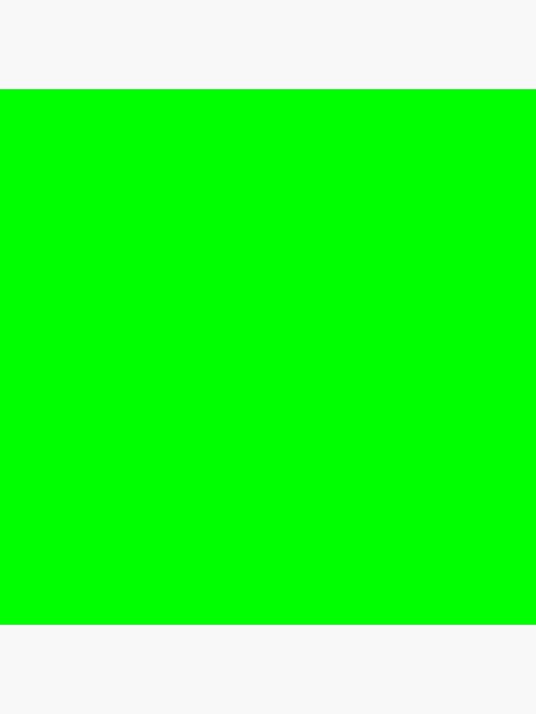 Neon Green Simple Solid Designer Color All Over Color by podartist