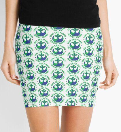 Save The Planet Resist Trump Mini Skirt