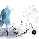 Fußballspieler 6 von Marlene Watson