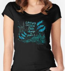 When you can't beat the odds, change the game. - Kaz Brekker. Six of Crows. Women's Fitted Scoop T-Shirt