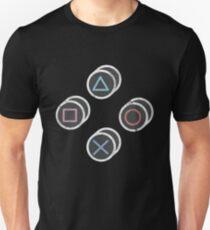 Retro Gamer Controller Buttons T-Shirt