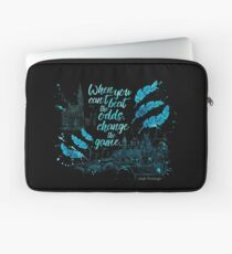 When you can't beat the odds, change the game. - Kaz Brekker. Six of Crows. Laptop Sleeve