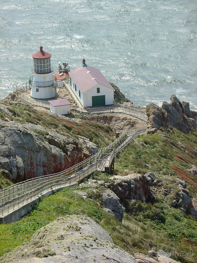 Point Reyes Lighthouse by JennZoll