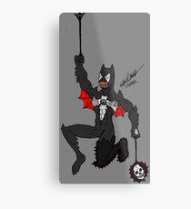 Amalgam Black Lantern Spider-Bat Metal Print