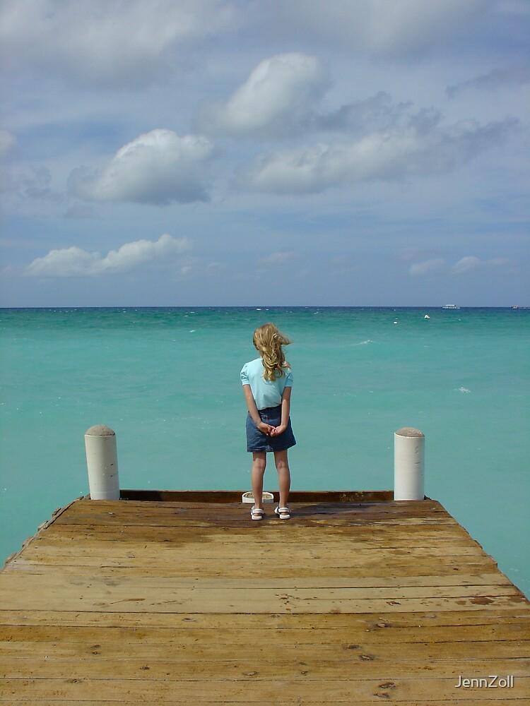 Caymen dock by JennZoll