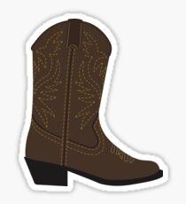 Cowboy Boot | Western Boot Sticker