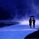 Rainy Stroll by George Robinson