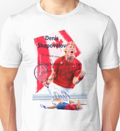 Denis Shapovalov fighting T-Shirt