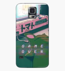 Funda/vinilo para Samsung Galaxy 90S ANIME CAT GAME OVER VAPERWAVE GRUNGE PIXEL KAWAII
