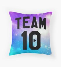 galaxy team 10- Jake Paul Throw Pillow
