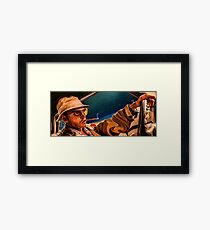 fear and loathing print Framed Print