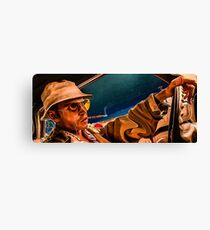 fear and loathing print Canvas Print