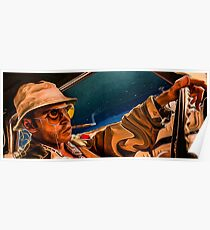 fear and loathing print Poster