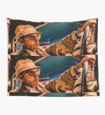 fear and loathing print Wall Tapestry