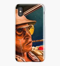 fear and loathing print iPhone Case