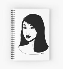 Headshot  Spiral Notebook