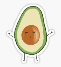 Avocado Friend Sticker