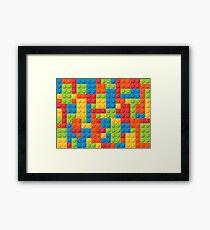 LEGO BLOCKS! Framed Print