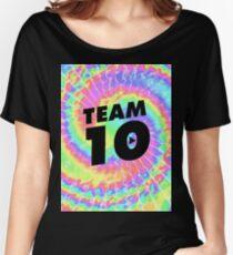 tie dye team 10- jake paul Women's Relaxed Fit T-Shirt
