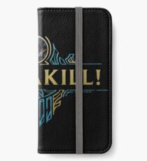 Zed PentaKill Shirt - Limited Edition iPhone Wallet/Case/Skin