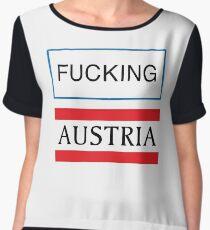 Fucking Austria Women's Chiffon Top