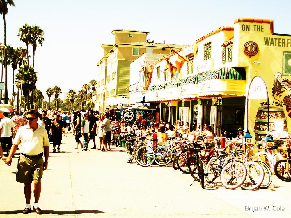 Venice Beach Sunday by Bryan W. Cole
