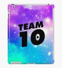 galaxy team 10- jake paul iPad Case/Skin