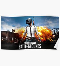Battle Grounds Poster Poster