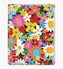 Whimsical Spring Flowers Power Garden II iPad Case/Skin